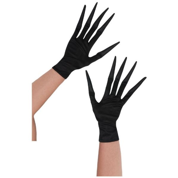 Childrens Creepy Child Gloves Fancy Dress Outfit Accessory